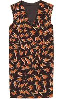 Miu Miu Printed Shift Dress - Lyst