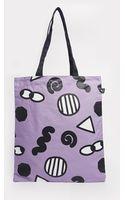 Lazy Oaf Eye Print Shopper Bag - Lyst