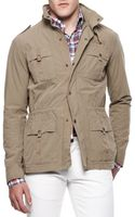Michael Bastian Four-pocket Twill Military Jacket - Lyst
