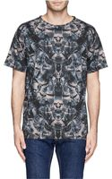 Marcelo Burlon Allover Snakes Print T-shirt - Lyst