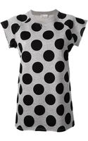 RED Valentino Polka Dot Sweater - Lyst