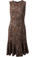 Dolce & Gabbana Flared Dress - Lyst