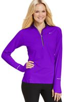 Nike Element Drifit Halfzip Pullover - Lyst