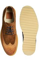 Asos Brogue Shoes in Leather - Lyst