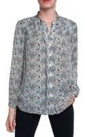 Sea New York Paisley Print Blouse - Lyst