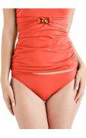 Michael Kors Classic Hipster Bikini Bottoms - Lyst