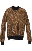 Martin Grant Panther Print Top - Lyst