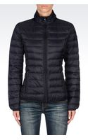 Armani Jeans Down Coat - Lyst