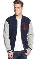 Tommy Hilfiger Michelton Baseball Jacket - Lyst