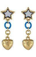 Marc By Marc Jacobs Star and Puffy Heart Earring - Lyst