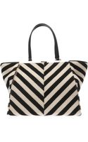 Fendi 3jours Trapeze Wing Calfhair Tote - Lyst