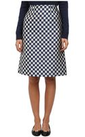 Marc By Marc Jacobs Checkerboard Jacquard Skirt - Lyst