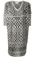 Etoile Isabel Marant Beverly Embroidered Dress - Lyst