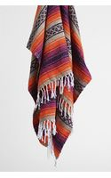 Urban Outfitters Woven Stripe Beach Blanket - Lyst