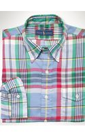 Polo Ralph Lauren Plaid Cotton Sport Shirt - Lyst
