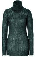 Michael Kors Mohair Wool Turtleneck Pullover - Lyst