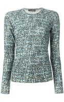 Dolce & Gabbana Boucle Knit Top - Lyst