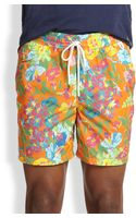 Polo Ralph Lauren Island Floralprint Swim Trunks - Lyst