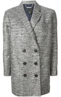 Marc By Marc Jacobs Buttoned Short Coat - Lyst