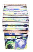 Clover Canyon Acropolis Garden Neoprene Skirt - Lyst
