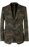 Valentino Slim-fit Woven-wool Suit Jacket - Lyst