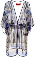 Clover Canyon Printed Chiffon Cover Up - Lyst