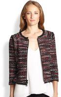 Milly Frayededge Boucle Jacket - Lyst