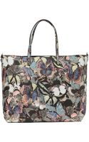 Valentino Butterfly Leather Tote - Lyst
