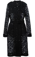 Burberry Prorsum Floral Lace Trench Coat - Lyst
