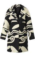 Diane Von Furstenberg Daphnis Coat - Lyst