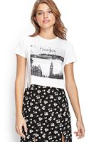 Forever 21 London Graphic Tee - Lyst