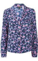 Juicy Couture Rose Pyjama Top - Lyst