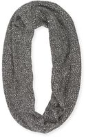 Kate Spade Sequined Knit Infinity Scarf Gray - Lyst