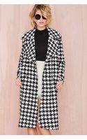 Nasty Gal Reality Check Coat - Lyst