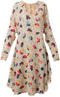 Chloé Layered Dress - Lyst