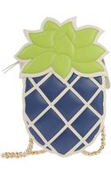 Moschino Cheap & Chic Pineapple Chain-Strap Shoulder Bag - Lyst