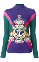Mary Katrantzou Anchor Badge Sweater - Lyst