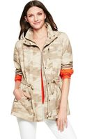C. Wonder Washed Cotton Camo Printed Anorak - Lyst