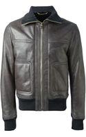 Dolce & Gabbana Bomber Jacket - Lyst