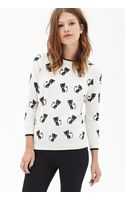 Forever 21 Siamese Cat Crew Neck Sweater - Lyst