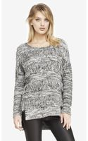 Express Fringe Front Tunic Sweater - Lyst
