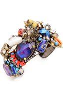 Erickson Beamon Fashion Tribe Cuff Bracelet Multi - Lyst