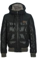 Dolce & Gabbana Hooded Padded Jacket - Lyst