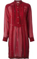 Etoile Isabel Marant Cary Striped Dress - Lyst