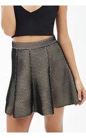 Forever 21 Mesh A-line Skater Skirt - Lyst