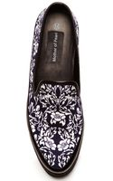 Mother Of Pearl Kennedy Canvas Slip Ons Navy Floral - Lyst