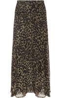 Etoile Isabel Marant Cega Printed Maxi Skirt - Lyst
