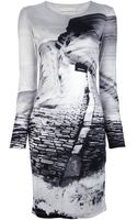 Mary Katrantzou Sandeep Printed Silk Dress - Lyst