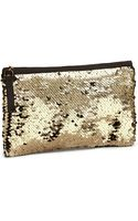 H&M Sequin-embroidered Clutch Bag - Lyst