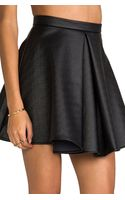 Cameo Bloom Skirt in Black - Lyst